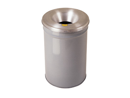 Cease-Fire® Waste Receptacle, Safety Drum Can with Aluminum Head, 15 gallon (57L) - SolventWaste.com