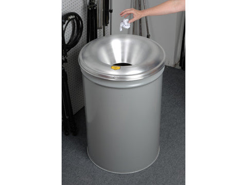 Cease-Fire® Waste Receptacle, Safety Drum Can with Aluminum Head, 55 gallon (200L) - SolventWaste.com