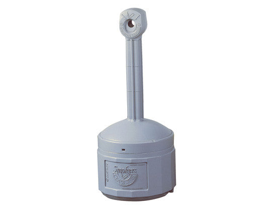Original Smoker's Cease-Fire® Cigarette Butt Receptacle, Cap. 4 gal, bucket incld, poly - SolventWaste.com