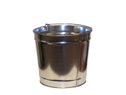 Smoker's Cease-Fire® Replacement Pail for cigarette butt receptacle, steel, bail handle - SolventWaste.com