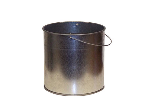 Smoker's Cease-Fire® Replacement Pail for personal-size cigarette butt recptcle, steel, bail handle - SolventWaste.com