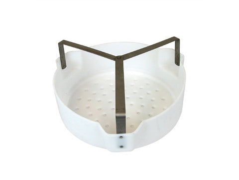 Basket for Parts for Dip Tank No. 27615 and Wash Tank No. 27723, Poly Basket, Steel Handles - SolventWaste.com
