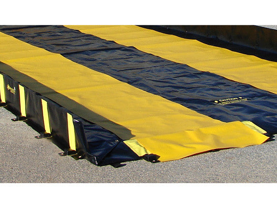 TRACK RUNNER, DIMS. 3'W x 28'L, YELLOW - SolventWaste.com