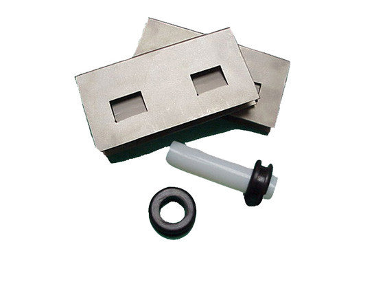 Sump-to-Sump™ Drain Kit for EcoPolyBlend™ Accumulation Centers, S/S clips, grommets, transfer tube - SolventWaste.com