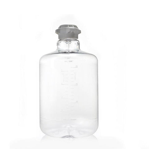 EZBio® Round Carboy 20 L (5 GAL) PC with 83B VersaCap® Non-Sterilized - SolventWaste.com