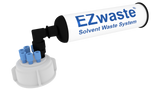"EZWaste UN/DOT Filter Kit, VersaCap 51S, 6 ports for 1/8"" OD Tubing with 10L Container - SolventWaste.com"