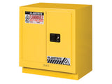 Under Fume Hood solvent/flammable liquid safety cabinet, Cap. 19 gal., 1 shelf, 2 m/c doors - SolventWaste.com
