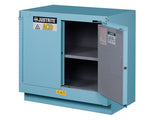 ChemCor® Under Fume Hood Corrosives/Acids Safety Cabinet, Cap. 23 gal., 1 shelf, 2 s/c doors - SolventWaste.com