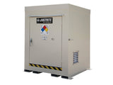 Non-Combustible Outdoor Safety Locker, 4-Drum - SolventWaste.com