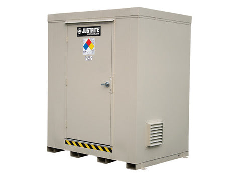 2-hour Fire-rated Outdoor Safety Locker, 6-Drum - SolventWaste.com