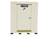 2-hour Fire-rated Outdoor Safety Locker, 16-Drum, Explosion Relief Panels - SolventWaste.com