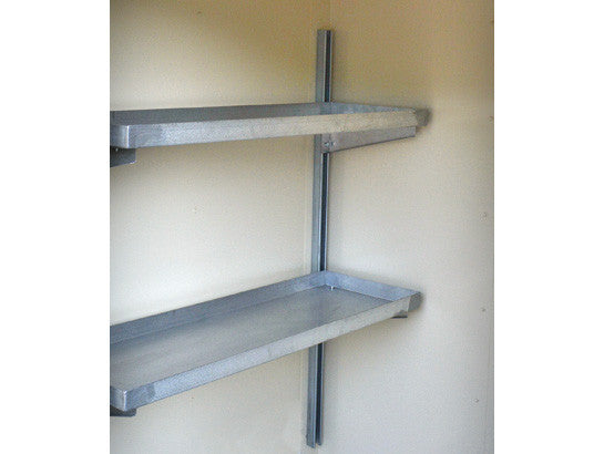 Shelving, 2-Tier for 16 Drum Locker - SolventWaste.com