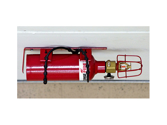 Fire Protection, Basic - FE-227 Extinguisher Unit, 4 through 16 Drum Locker - SolventWaste.com