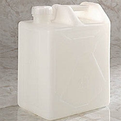 20 Liter HDPE Carboy, rectangular with cap size 70mm - SolventWaste.com
