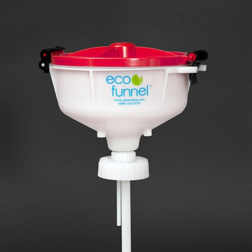 "8"" ECO Funnel with 70mm cap adapter - SolventWaste.com"