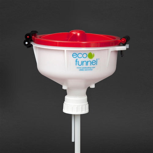 "8"" ECO Funnel with 53mm cap adapter - SolventWaste.com"