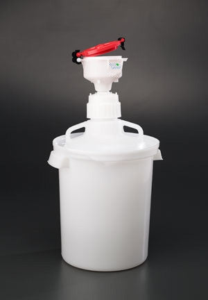 "4"" ECO Funnel System, 10 Liter, 83mm (83B), Secondary Container - SolventWaste.com"