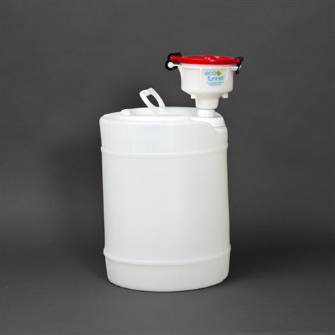 "4"" ECO Funnel System, 5 gallon, Cap Size 70mm (FS70) - SolventWaste.com"