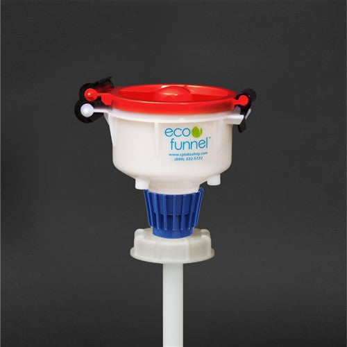 "4"" ECO Funnel with 70mm cap Tight Head Container - SolventWaste.com"