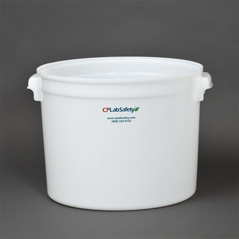 Secondary container for 20L/5 gal round tight head drum - SolventWaste.com