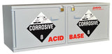 Stak-a-Cab™ Combination Acid/Base Cabinet - SolventWaste.com