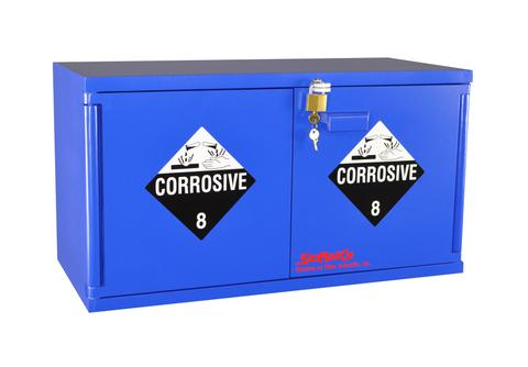 Mini Stak-a-Cab™ Corrosives Cabinet - SolventWaste.com