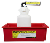 SolventWaste.com Secondary Container for 1-10L Carboys, 6/pk - SolventWaste.com