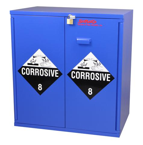 Jumbo Stacking Corrosive Cabinet - SolventWaste.com