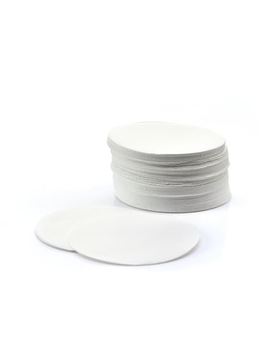 100 Pack EZFlow® 90mm 1.0µm Glass Fiber Membrane Disc Filter - SolventWaste.com