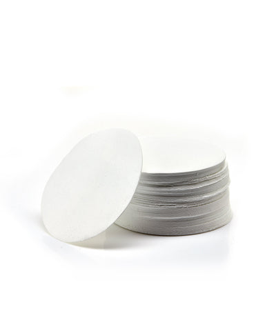 50 Pack EZFlow® 90mm 1.0µm Glass Fiber Membrane Disc Filter - SolventWaste.com