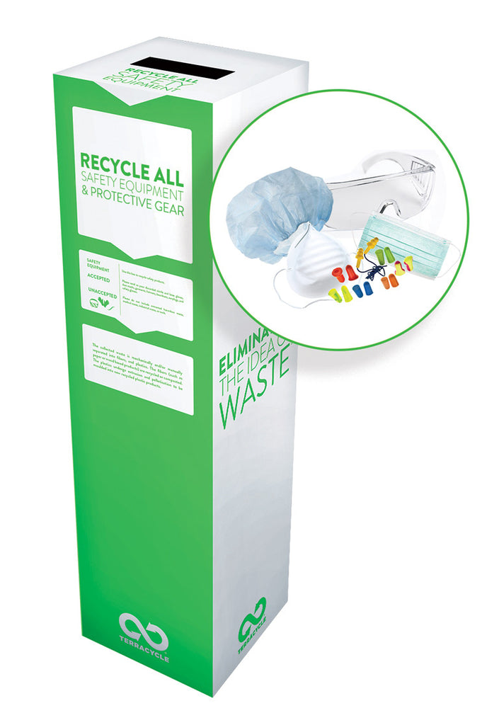 Zero Waste Recycling Box, Safety Equipment and Protective Gear, Small - SolventWaste.com