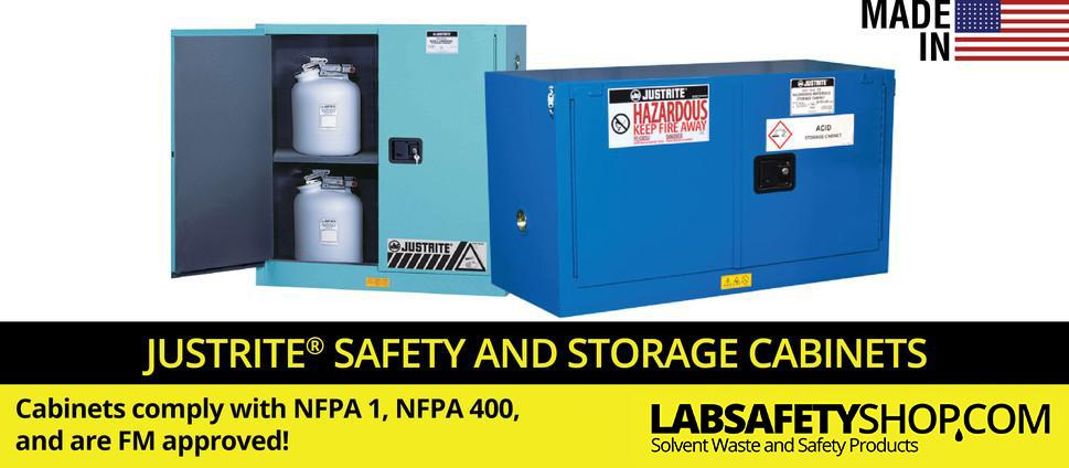 Justrite Safety Cabinets