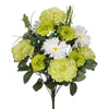 "Artificial 22"" Peony/Marigold/Daisy Bush - House of Silk Flowers®  - 3"