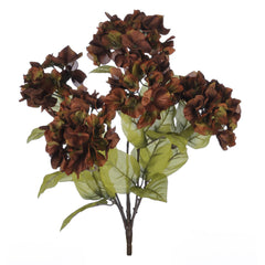 "Artificial 21"" Hydrangea Bush - House of Silk Flowers®  - 1"