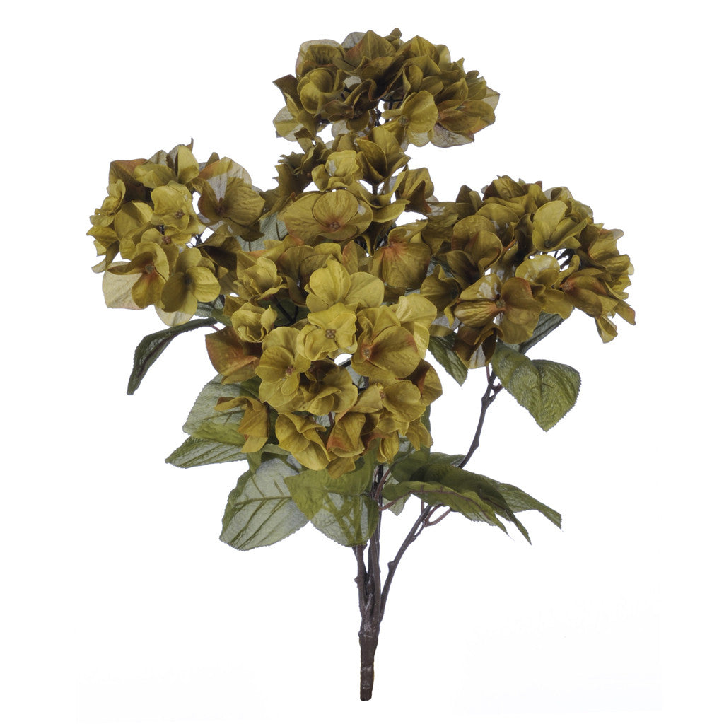 "Artificial 21"" Hydrangea Bush - House of Silk Flowers®  - 2"