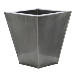 Square Small Zinc Vase - Set of 2 - House of Silk Flowers®  - 9