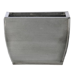 Rectangle Small Zinc Vase - Set of 6 - House of Silk Flowers®  - 12