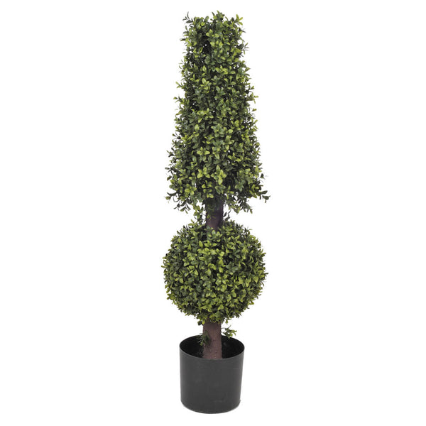 Artificial Boxwood Ball and Cone Topiary