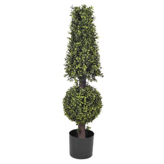 Artificial Boxwood Ball and Cone Topiary - House of Silk Flowers®  - 1