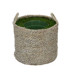 Large Seagrass Basket Planter Pot-in-a-Pot