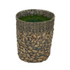 Large Mixed Seagrass/Water Hyacinth Basket Planter Pot-in-a-Pot