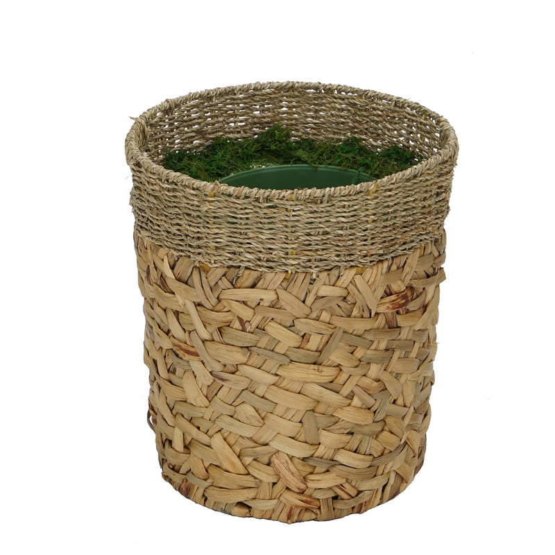 Natural Seagrass/Water Hyacinth Basket