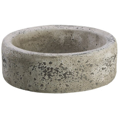 "Stone 3"" Cement Vase/Planter - House of Silk Flowers®"