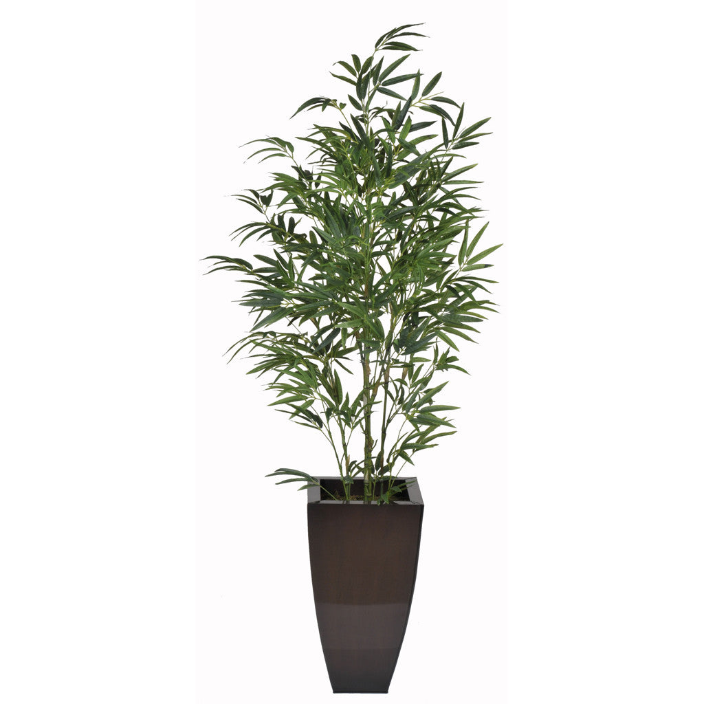 Artificial 5ft Green Bamboo in Planter - House of Silk Flowers®  - 4