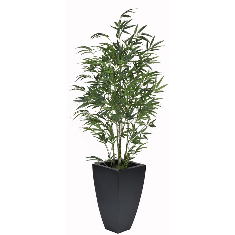 Artificial 5ft Green Bamboo in Planter - House of Silk Flowers®  - 2