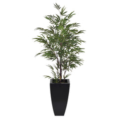 Artificial 5ft Black Bamboo in Planter - House of Silk Flowers®  - 2