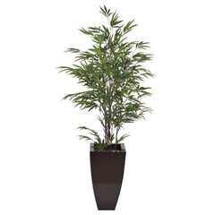 Artificial 5ft Black Bamboo in Planter - House of Silk Flowers®  - 7