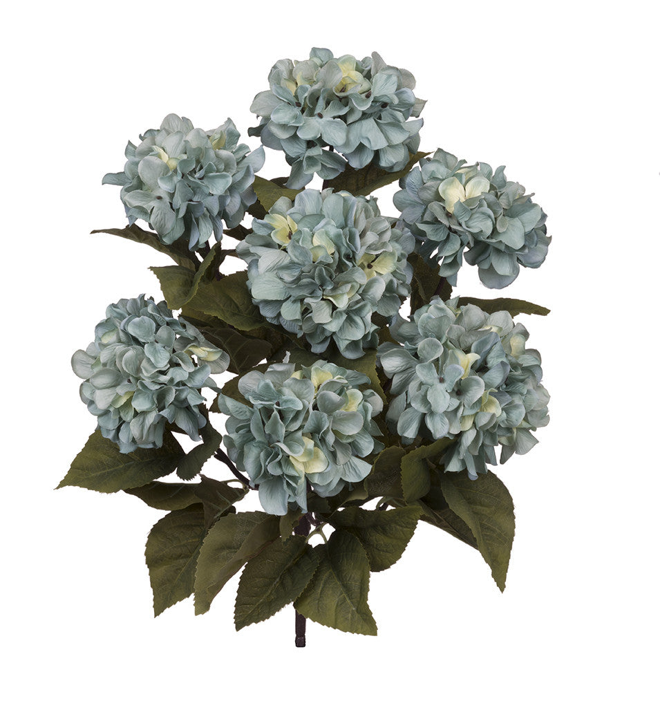 "Artificial 20"" Hydrangea Bush - House of Silk Flowers®  - 4"