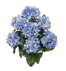 "Artificial 20"" Hydrangea Bush - House of Silk Flowers®  - 2"