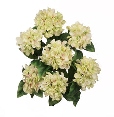 "Artificial 20"" Hydrangea Bush - House of Silk Flowers®  - 3"